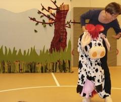 Smaug vertelt: Klazien, een echt gekke koe